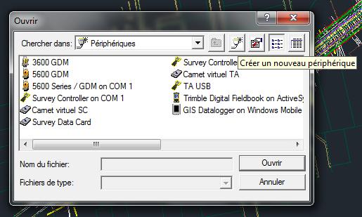 Utilisation et installation de Trimble Link pour Civil 3D